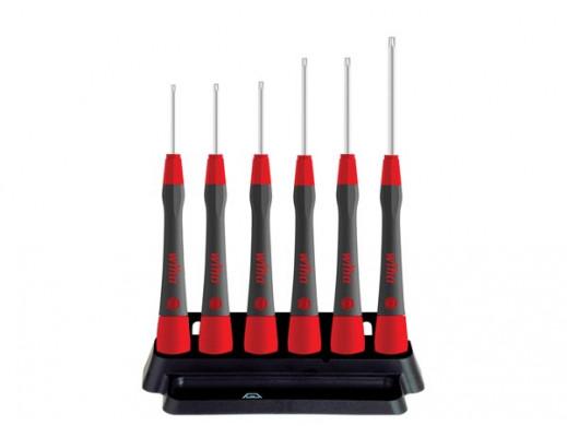 Wiha Fine screwdriver set PicoFinish® TORX® MagicSpring®, 6 pcs. with holder  (42998)