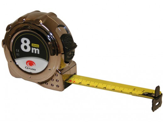 MEASURING TAPE - ABS CASE WITH UV LAYER - 8 m