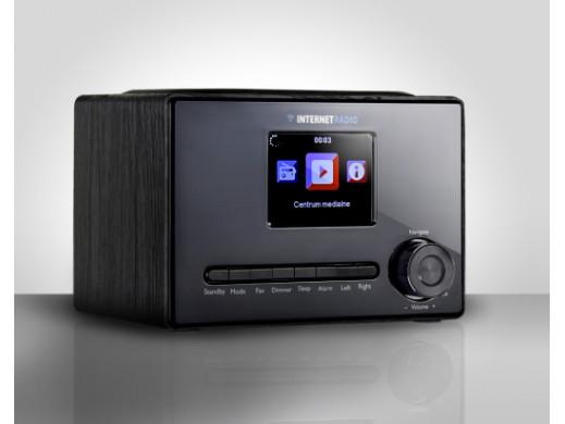 "RADIO INTERNETOWE WIFI1001 3.2"" color LCD czarne ART"