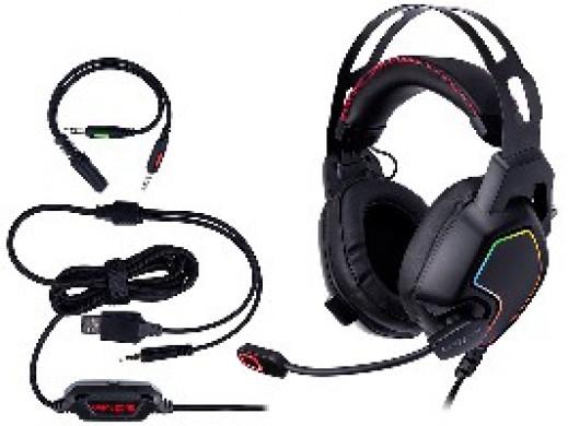 Słuchawki TRACER GAMEZONE Raptor V2 RGB