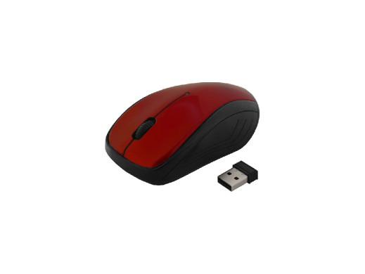 MYSZ ART bezprzewodowo-optyczna USB AM-92E czerwona