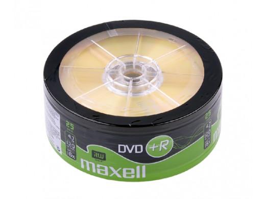 DVD+R MAXELL 4,7 GB 16x SP.25szt.