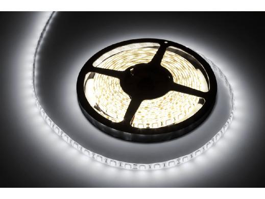 Sznur diodowy 5m  Rebel  zimny biały wodoodporny (300x550 SMD)  12V - białe PCB