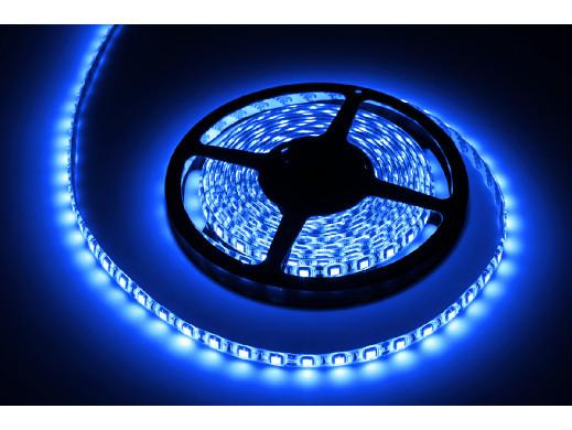 Sznur diodowy 5m Rebel , wodoodporny, niebieski (300x5050SMD)- białe PCB
