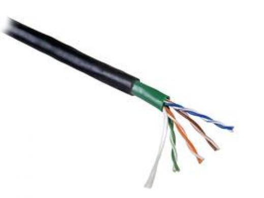 Kabel sieciowy SEVEN UTP cat.5 Solid Outodoor 4x2 305m