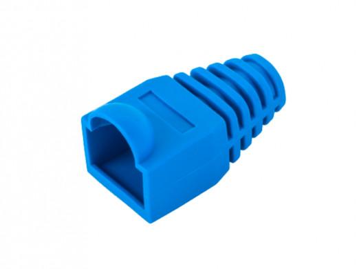 Osłona gumowa wtyku 8p8c niebieska LXKDCA17