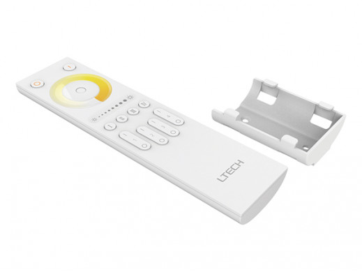 MULTI-ZONE SYSTEM - CCT (TUNABLE WHITE) RF LED REMOTE CONTROLLER - 4 ZONES