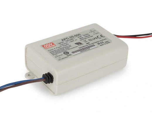CONSTANT CURRENT LED DRIVER - SINGLE OUTPUT - 500 mA - 25 W