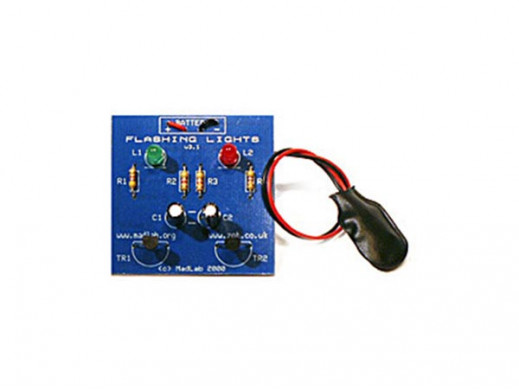 MADLAB ELECTRONIC KIT - FLASHING LIGHTS