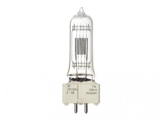 HALOGEN LAMP TUNGSRAM 1000W / 230-240V,  BI-PLANE (GE 88457)