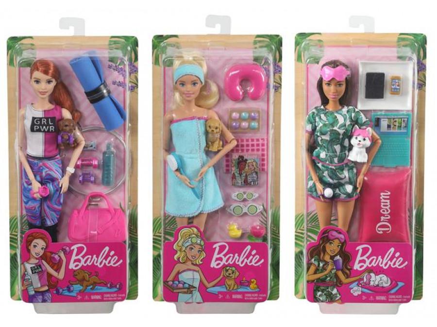 Barbie Lalka Relaks Ast.