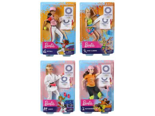 Barbie Lalka Olimpijka Ast.
