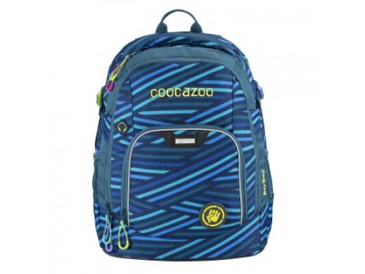 Plecak RayDay, kolor: Zebra Stripe Blue, system MatchPatch