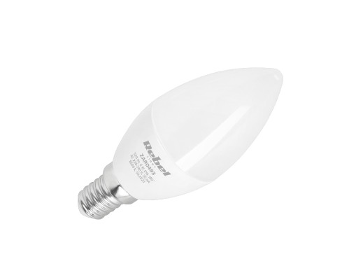 Lampa LED Rebel, świeca 6W, E14, 6500K., 230V