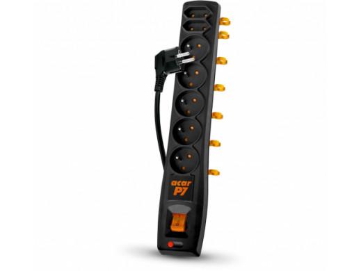 FILTR PRZECIWPRZEPIĘCIOWY ACAR P7 czarny 5m