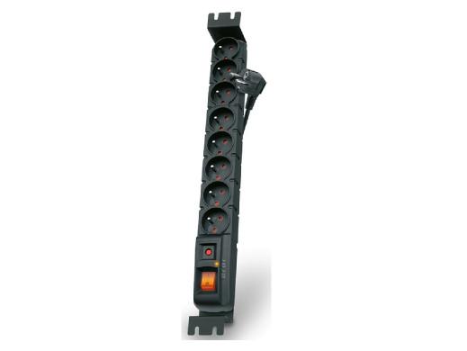 FILTR PRZECIWPRZEPIĘCIOWY ACAR S8 RACK czarny 3M