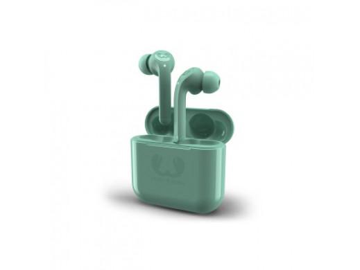 Słuchawki TWINS, true wirelles, z mikrofonem do rozmów, misty mint
