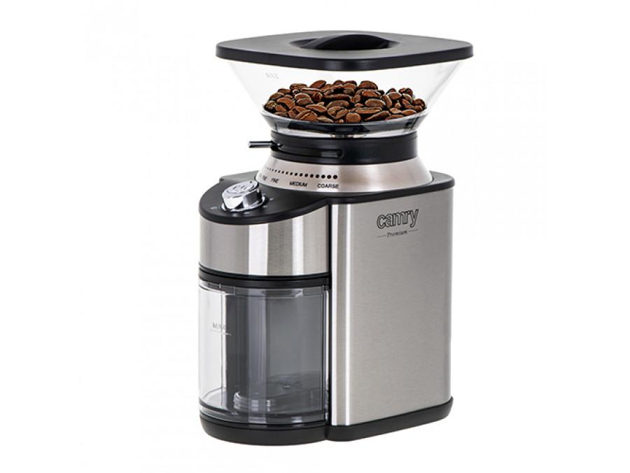Młynek do kawy ze stożkowym żarnem