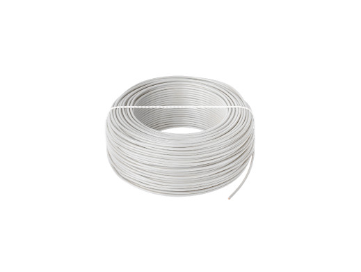 Przewód LgY 1x0,5 H05V-K biały
