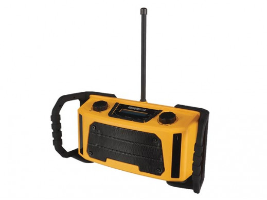 RADIO BUDOWLANE PRZEZNACZONE DO PRACY W TRUDNYCH WARUNKACH - DAB/DAB+/FM - 2 x 2,5 W