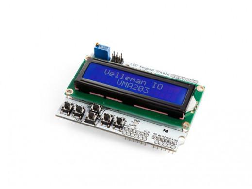 SHIELD BLOKU KLAWISZY DO ARDUINO® - LCD1602