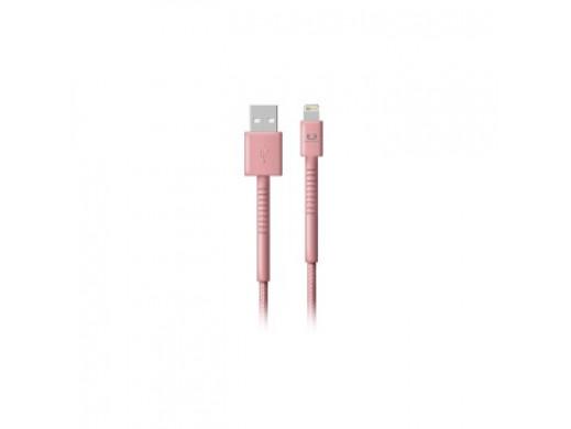 KABEL Lightning  1.5m   Dusty Pink