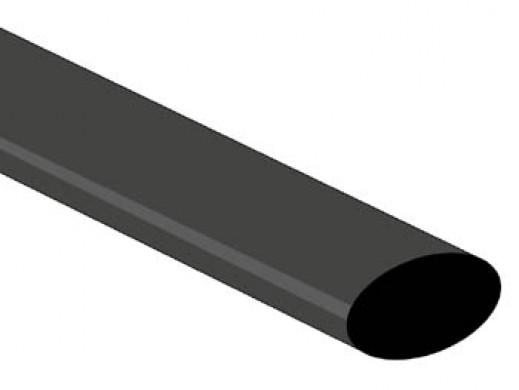 POWŁOKA TERMOKURCZLIWA 2:1 - 12,7mm - CZARNA - 25 SZT.