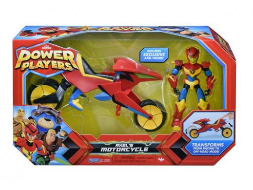 Power Players Axel figurka i pojazd