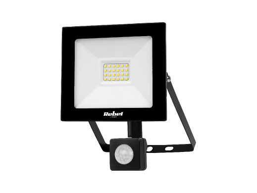 Reflektor LED  Rebel 20W, 3000K, z sensorem zmierzchu, 230V