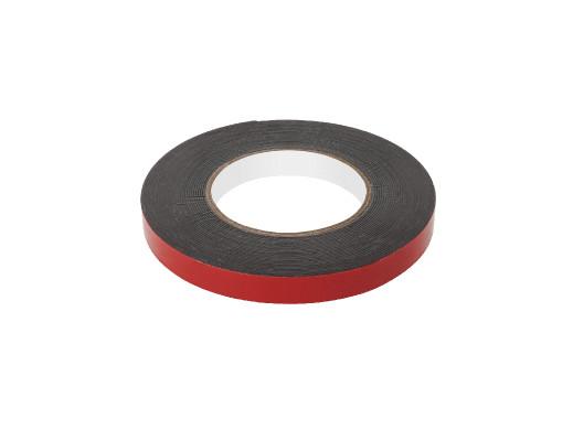Taśma piankowa dwustronna REBEL (1 mm x 15 mm x 10 m) czarna