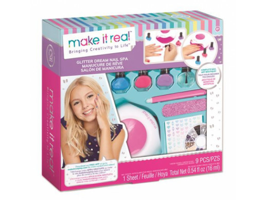 Make it real - Zestaw do manicure Nail Spa