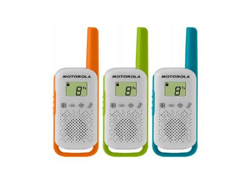 Radiotelefony ręczne PMR Motorola T42 trójpak