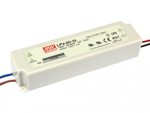 SWITCHING POWER SUPPLY - SINGLE OUTPUT - 60W - 24 V