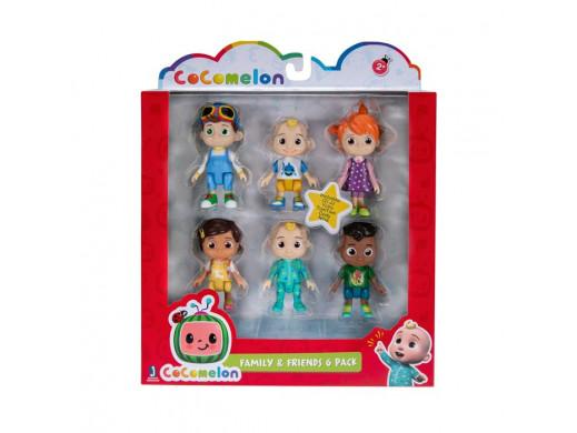 CoComelon Rodzina i Przyjaciele figurki 6 pak