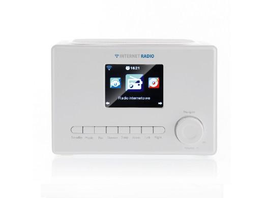 "RADIO INTERNETOWE WIFI X102 LCD kolor 3,2""  białe ART"