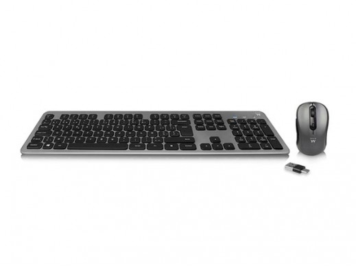 EWENT - WIRELESS KEYBAORD AND MOUSE SET (KB/BE FR AZERTY)
