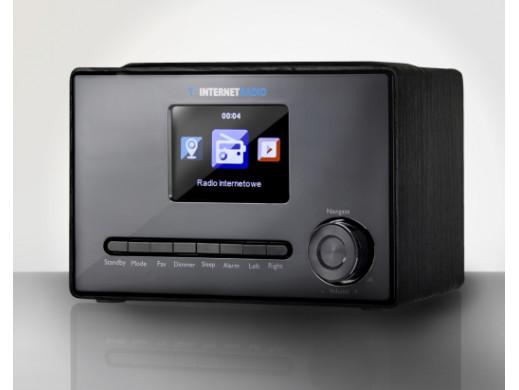 "RADIO INTERNETOWE WIFI X100 LCD kolor 3,2"" czarne ART"