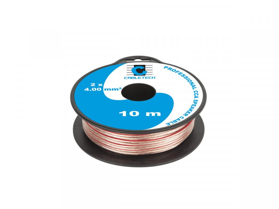 Kabel głośnikowy CCA 4.0mm 10M
