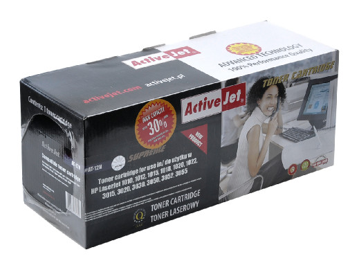 TONER ActiveJet do drukarki laserowej HP (12A Q2612A) czarny