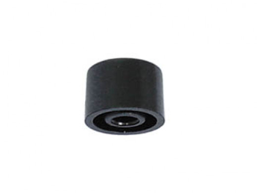 PUSH-BUTTON CAP - BLACK Ø9mm