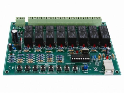 8-kanałowa karta USB z...