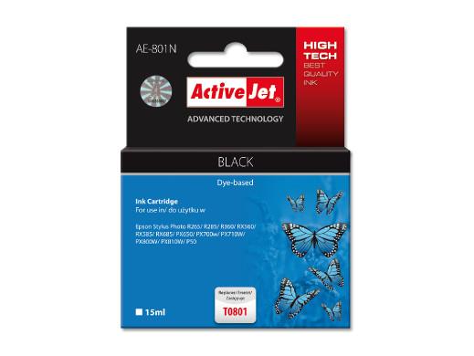 TUSZ ActiveJet do drukarki Epson (T0801) czarny
