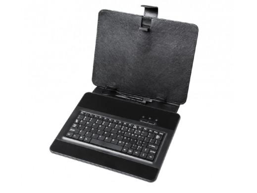 Pokrowiec uniwersalny do tabletów 9.7 cala z klawiatura mini USB