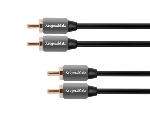 Kabel 2RCA-2RCA 1.0m...