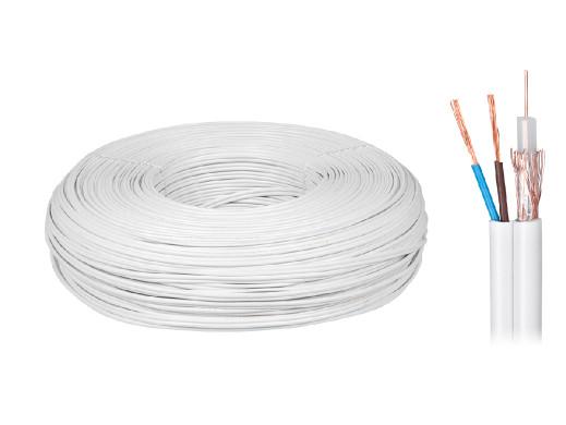 Kabel koncentryczny YWDXek 75-0.59/3.7 K-60 + 2x0,5mm 100m