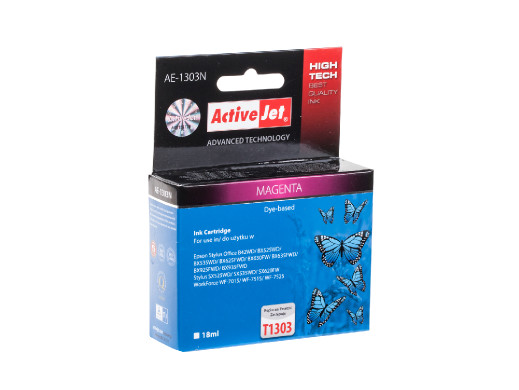 TUSZ ActiveJet do drukarki Epson (T1303) magenta