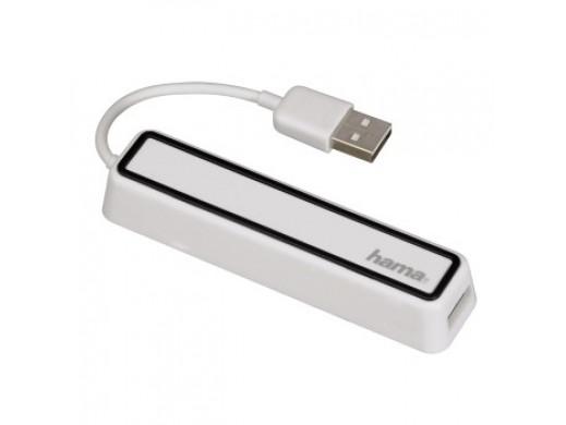 HUB 1:4 USB 2.0 BIAŁY
