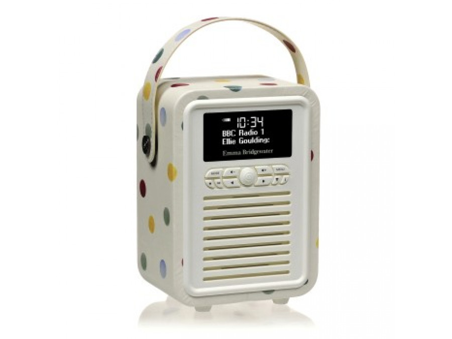 Retro Mini DAB+ Radio Emma Bridgewater Polka Dot