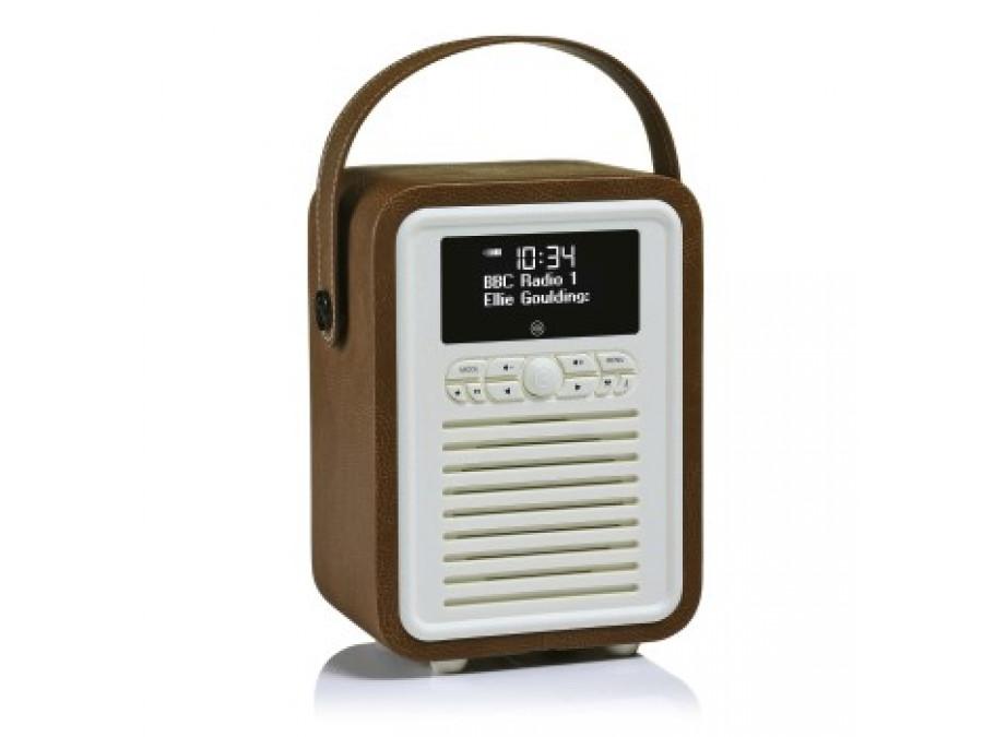 Retro Mini DAB+ Radio Emma Bridgewater brązowe