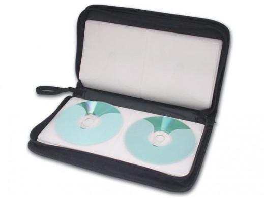 FUTERAŁ NA 40 PŁYT CD/DVD